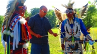 YLF Guest w/Native Pride Arts dancers Larry Yazzie + brother!