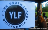 YLF Executive Director Bridget speaking