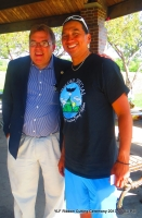 Senator John Hoffman  + Native Pride Dancer Larry Yazzie